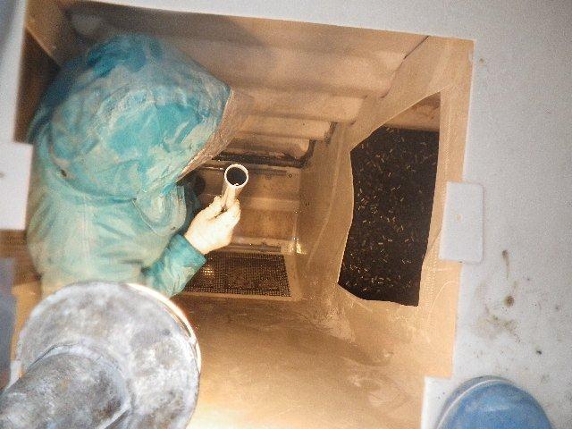 浄化槽の漏水修理
