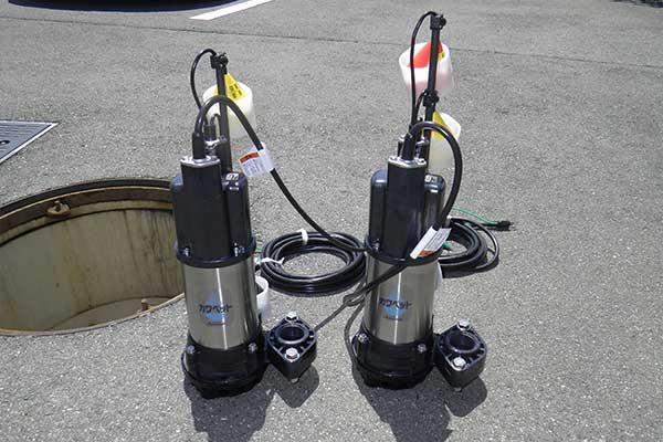浄化槽排水ポンプ・ブロワー修理
