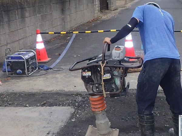 上下水道引き込み工事